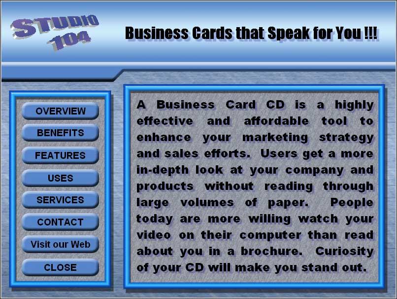 Business Card CD-Rom
